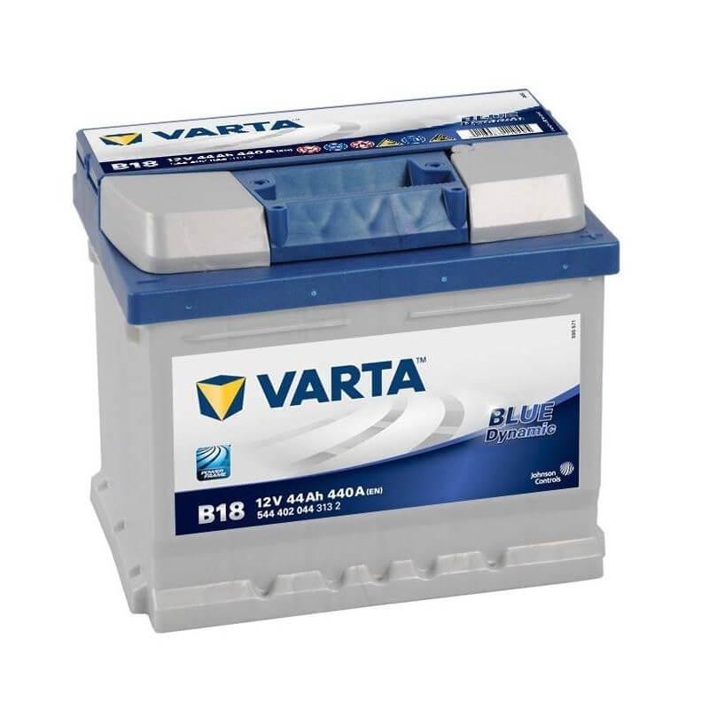 μπαταρια αυτοκινητου Μπαταρία αυτοκινήτου Varta Blue Dynamic B18 Μπαταρίες κλειστού τύπου