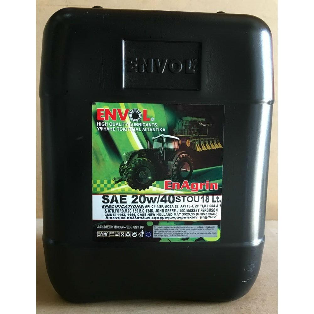 ENVOL AGRIN 20W-40 STOU