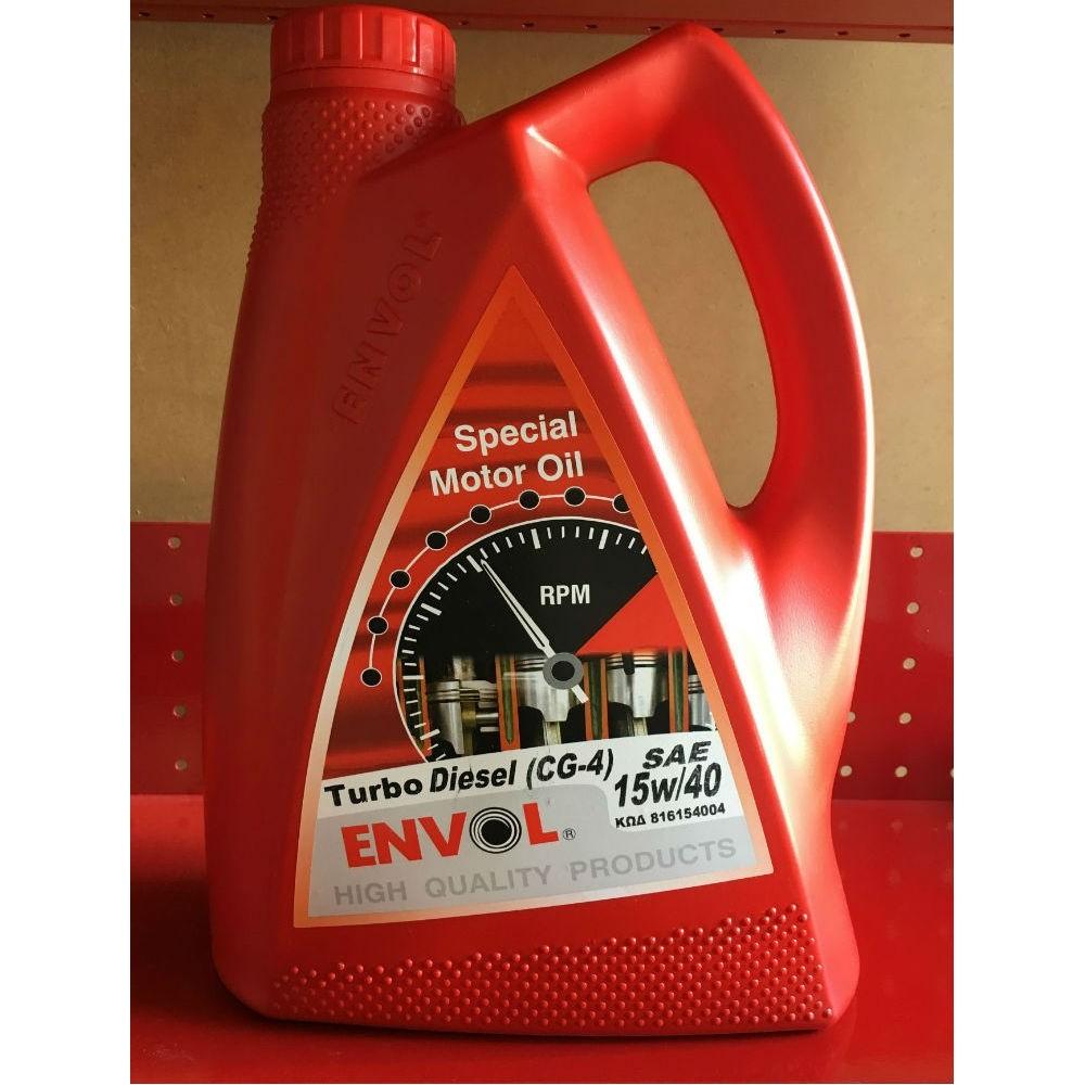 ENVOL MOTOR OIL 15W-40 TURBO DIESEL