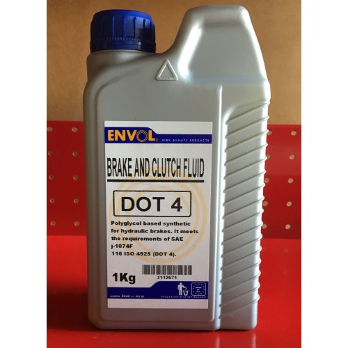 ENVOL BRAKE FLUID DOT4
