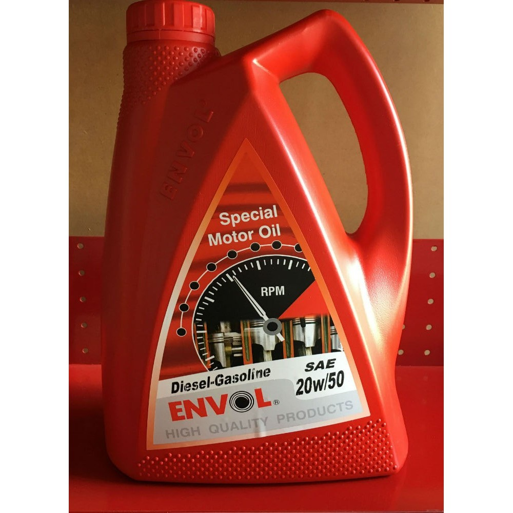 ENVOL MOTOR OIL 20W-50 DIESEL GASOLINE