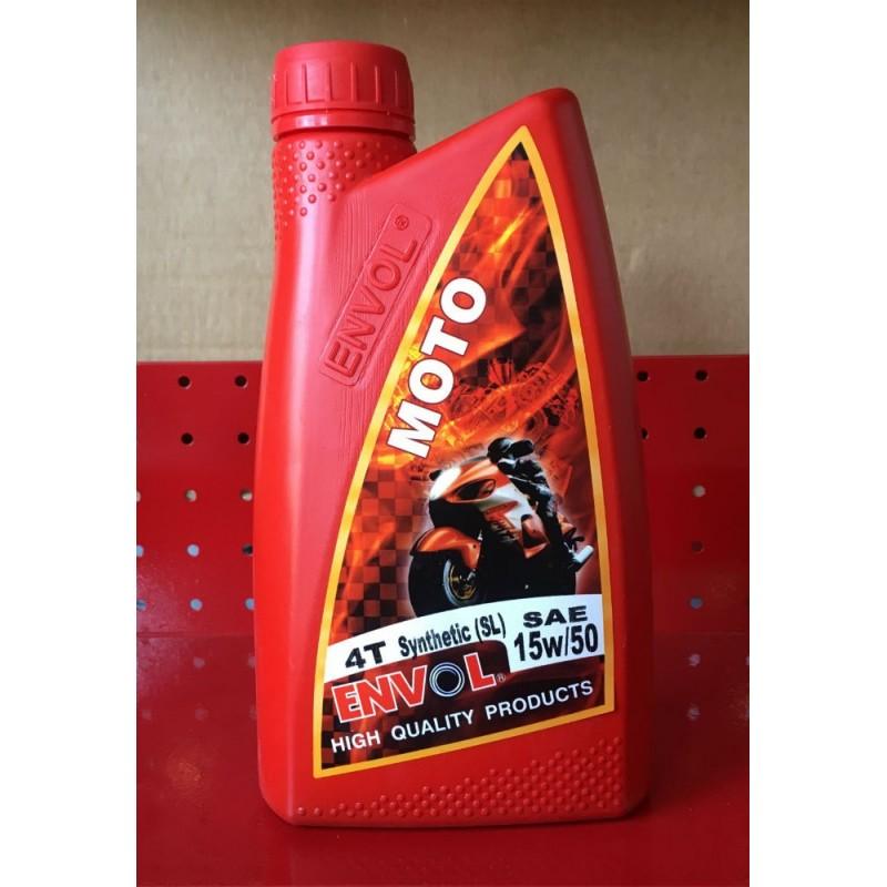 ENVOL MOTOR OIL 15W-50 SEMI SYNTHETIC