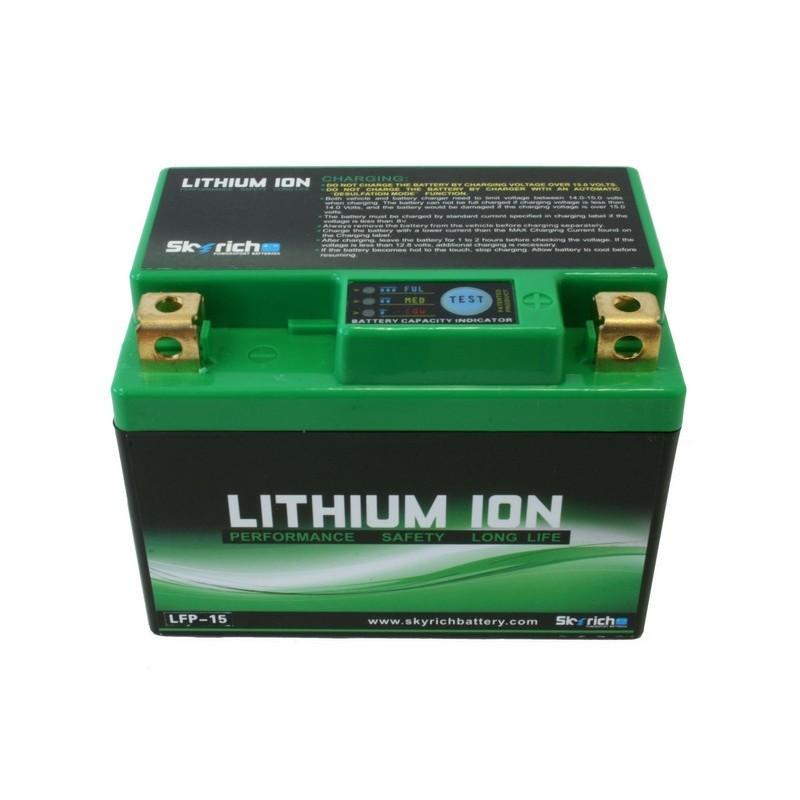 μπαταρια αυτοκινητου SKYRICH LFP-15 (105 CCA) Μπαταρία ιόντων λιθίου Skyrich