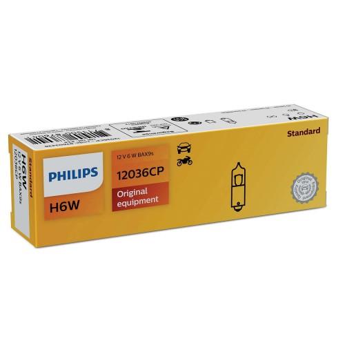 PHILIPS H6W 12V 6W