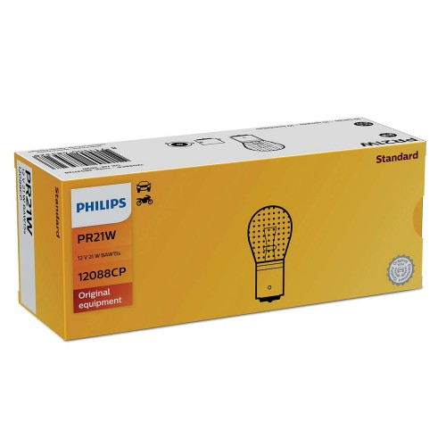 PHILIPS 12V PR21W 21W RED