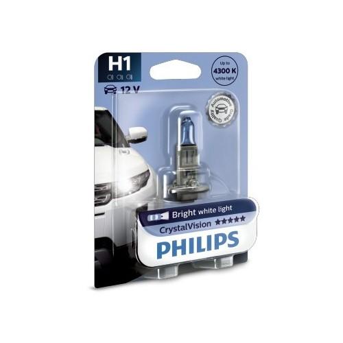 PHILIPS H1 12V 55W CRYSTAL VISION