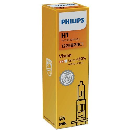 PHILIPS H1 12V 55W VISION +30%