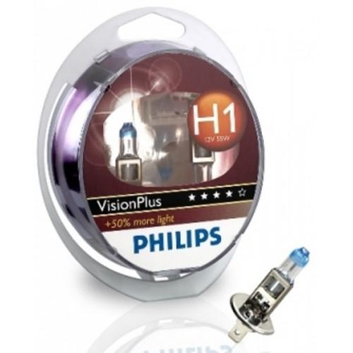PHILIPS H1 12V 55W VISION PLUS