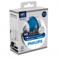 PHILIPS H1 12V 55W WHITE VISION
