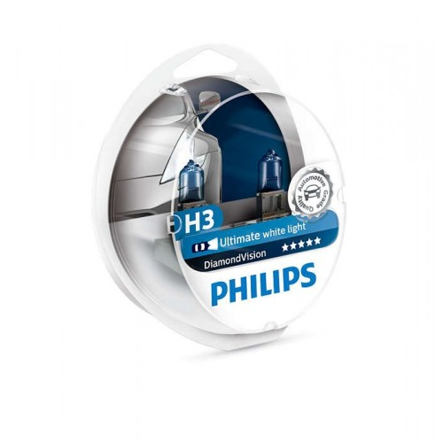 PHILIPS H3 12V 55W DIAMOND VISION