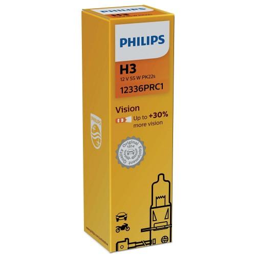 PHILIPS H3 12V 55W VISION +30%
