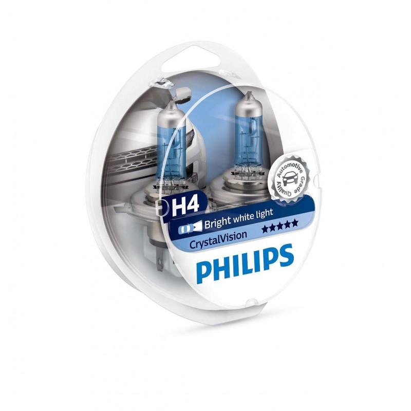 PHILIPS H4 12V 60/55W CRYSTAL VISION