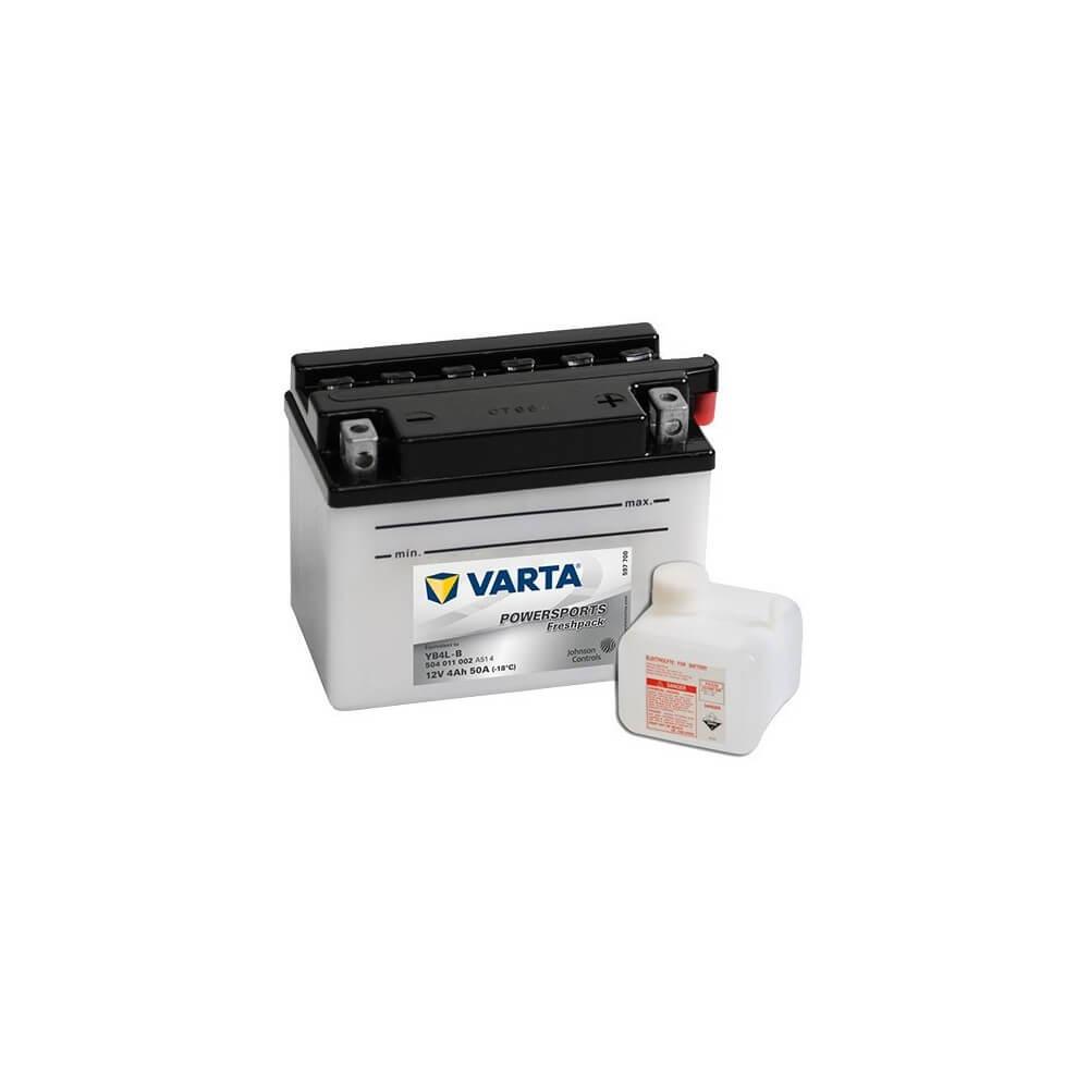μπαταρια αυτοκινητου Μπαταρία μοτό Varta POWERSPORTS Freshpack YB4L-B Μπαταρία ανοιχτού τύπου