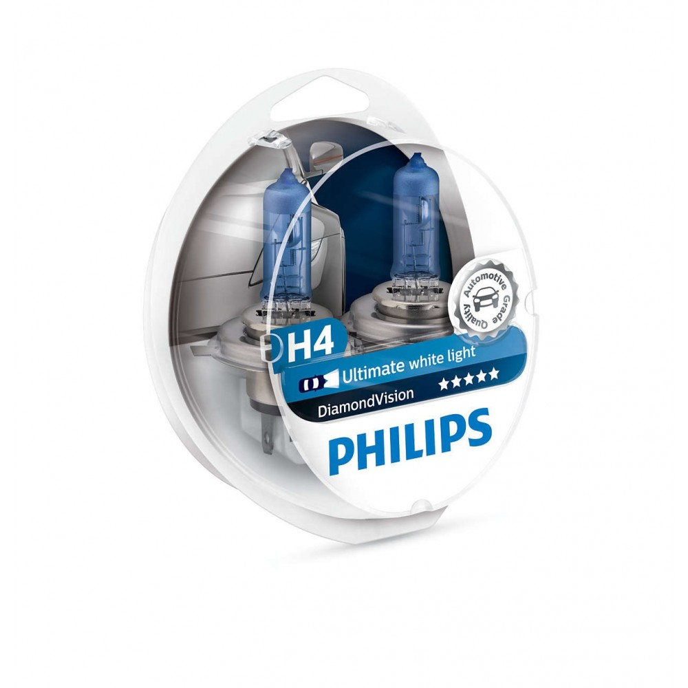 PHILIPS H4 12V 60/55W DIAMOND VISION