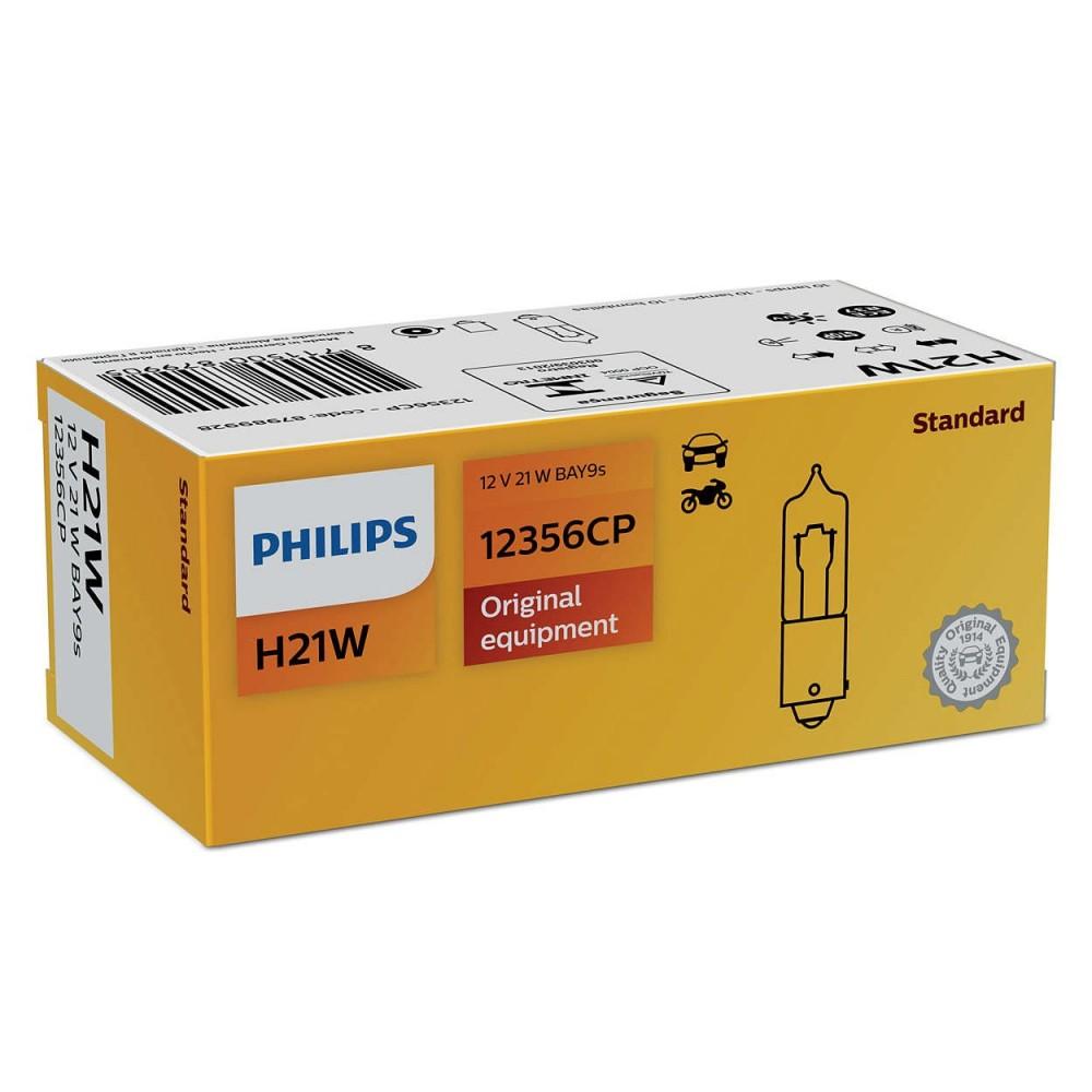 PHILIPS 12V H21W 21W BAY9s