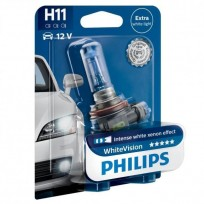 PHILIPS H11 12V 55W WHITE VISION
