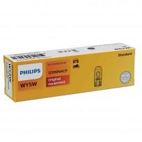 PHILIPS 12V WY5W 5W Amber