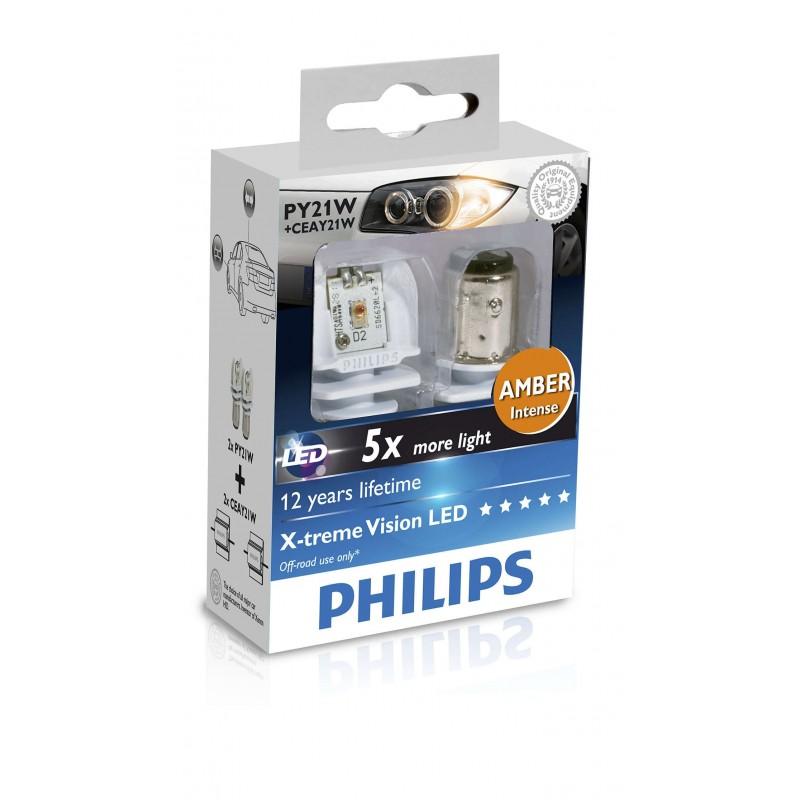 PHILIPS LED PY21W + CEAY21W 12V 21W