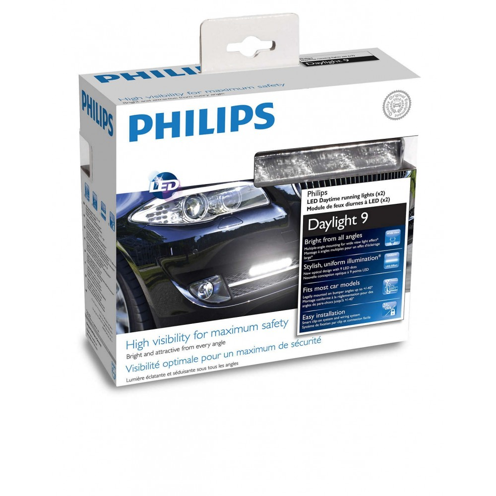 PHILIPS ΚΙΤ DRL 9 LED 12V 6W