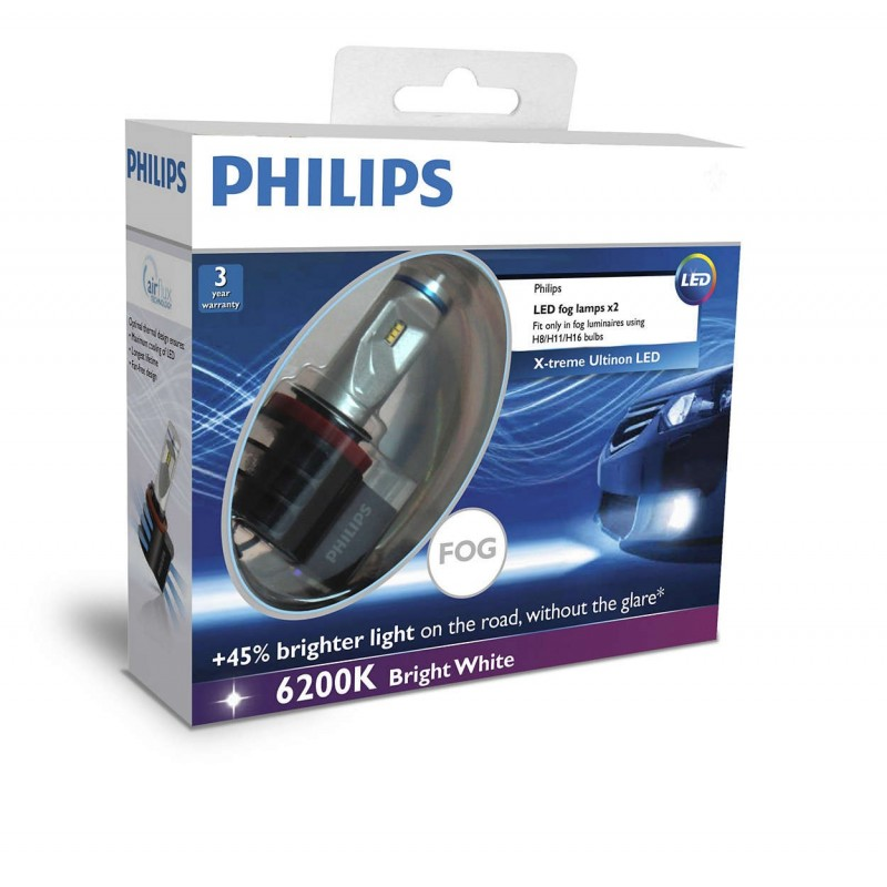 PHILIPS LED FOG UNIVERSAL H8/H11/H16