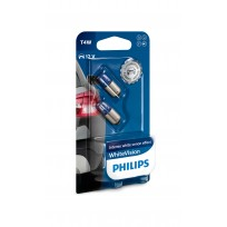 PHILIPS T4W 12V 4W WHITE VISION