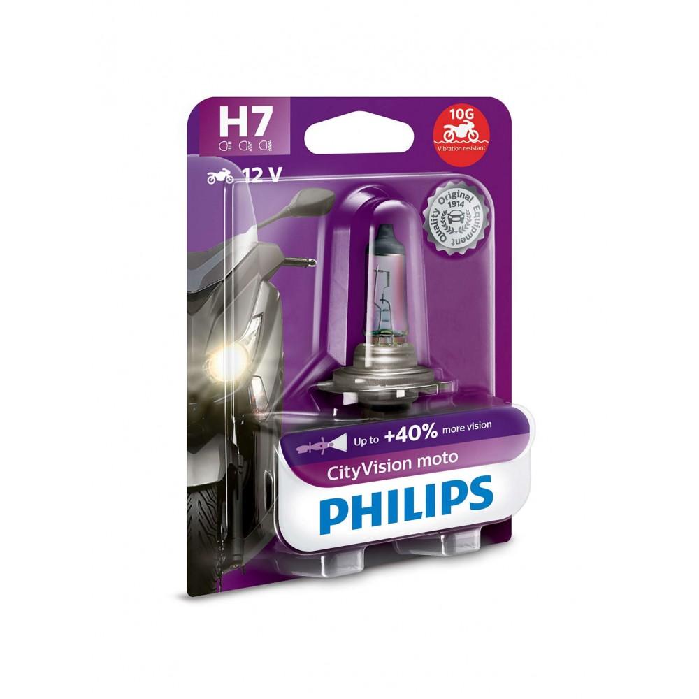 PHILIPS H7 12V 55W City Vision Moto