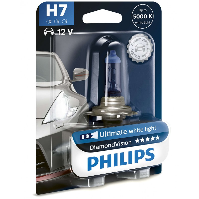 PHILIPS H7 12V 55W DIAMOND VISION