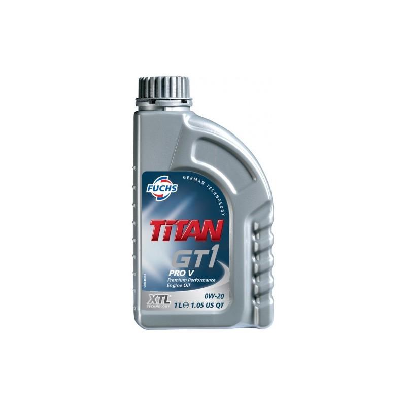 FUCHS Λιπαντικό TITAN GT1 PRO V 0W-20 XTL
