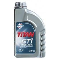 FUCHS Λιπαντικό TITAN GT1 LONGLIFE IV 0W-20