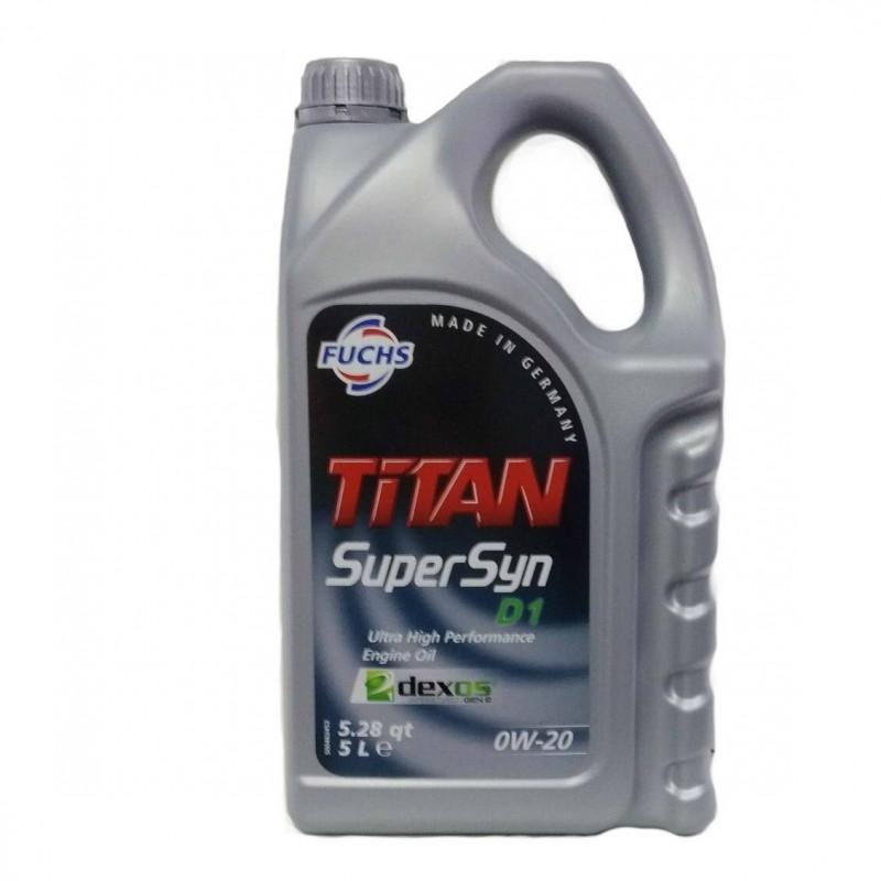 FUCHS Λιπαντικό TITAN SUPERSYN D1 0W-20
