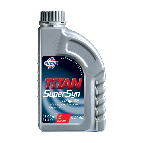 FUCHS Λιπαντικό TITAN SUPERSYN LONGLIFE 0W-40
