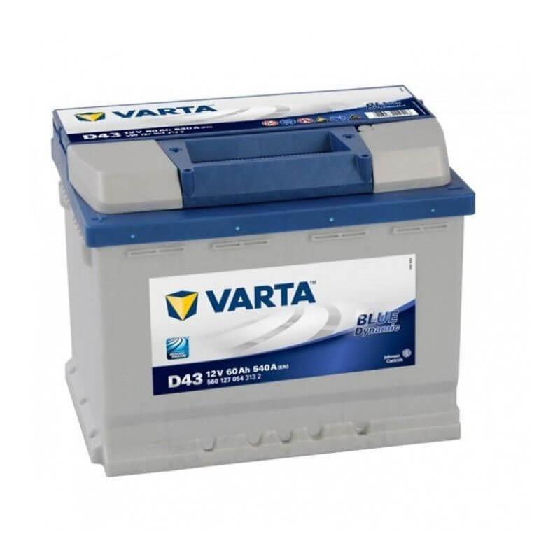 μπαταρια αυτοκινητου Μπαταρία αυτοκινήτου Varta Blue Dynamic D43 Μπαταρίες κλειστού τύπου