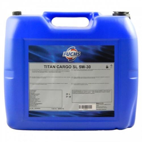 FUCHS Λιπαντικό TITAN CARGO SL 5W-30