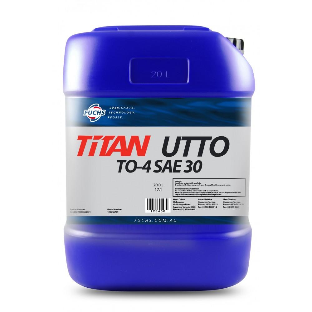 FUCHS Λιπαντικό TITAN UTTO TO-4 30W