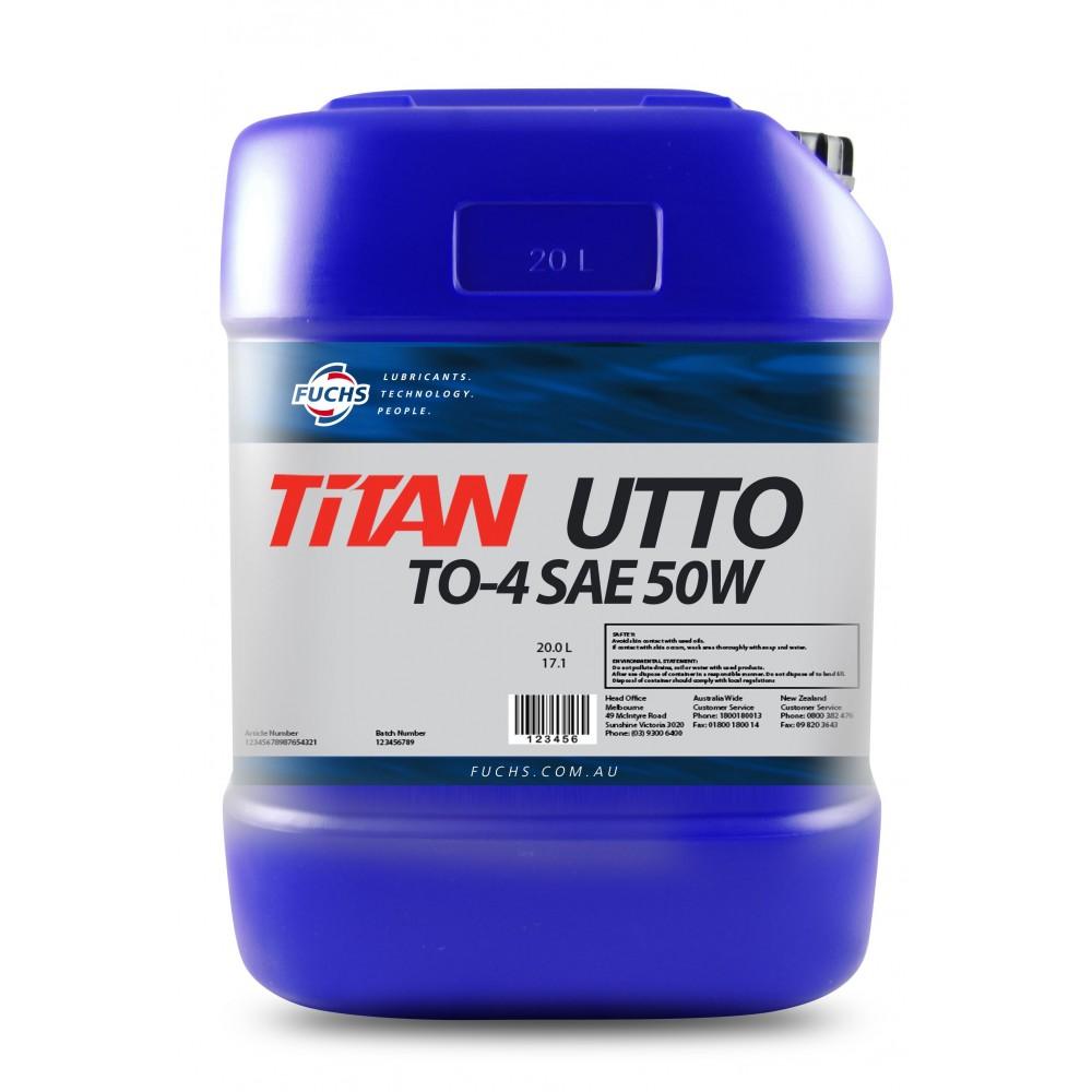 FUCHS Λιπαντικό TITAN UTTO TO-4 50W