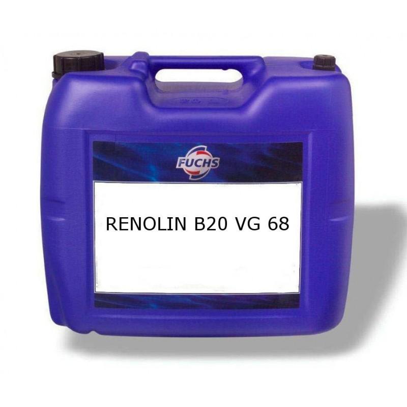 FUCHS Υδραυλικό Λιπαντικό RENOLIN B20 (ISO VG68)