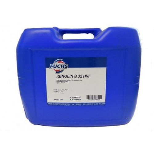 FUCHS Υδραυλικό Λιπαντικό RENOLIN B32 HVI