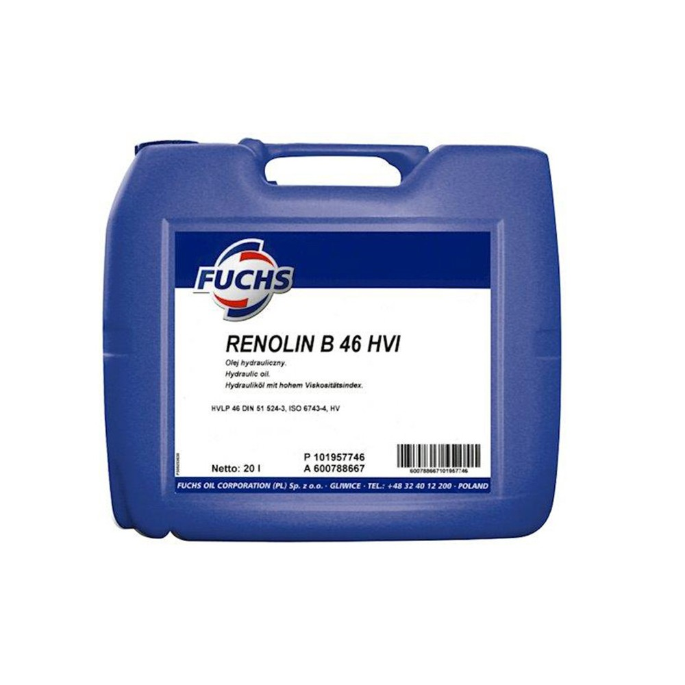 FUCHS Υδραυλικό Λιπαντικό RENOLIN B46 HVI