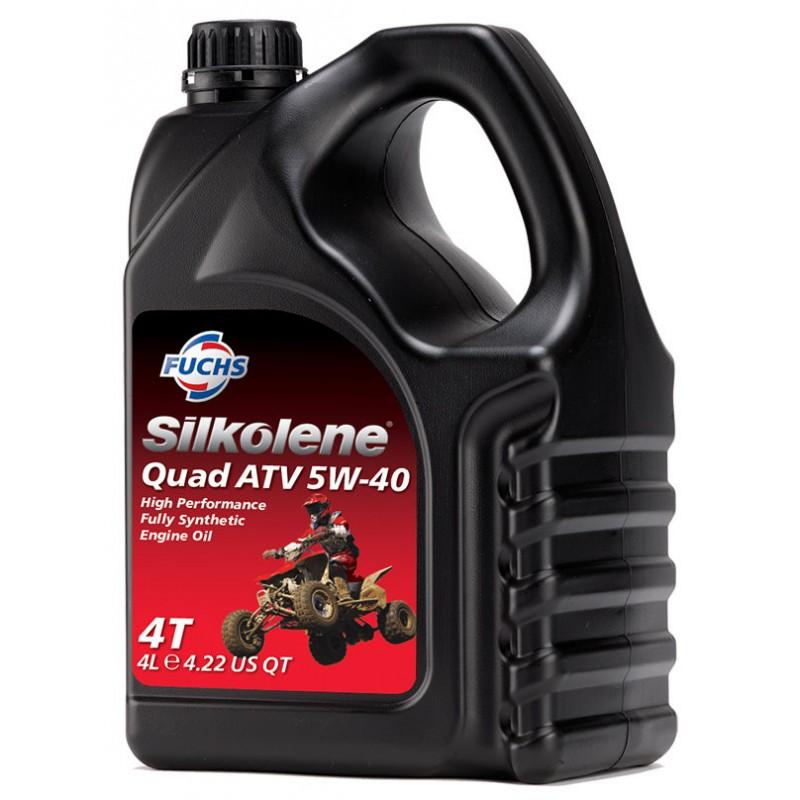 FUCHS SILKOLENE 4T QUAD ATV 5W-40