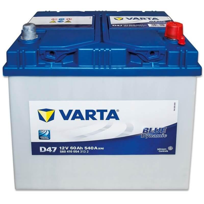 μπαταρια αυτοκινητου Μπαταρία αυτοκινήτου Varta Blue Dynamic D47 Μπαταρίες κλειστού τύπου
