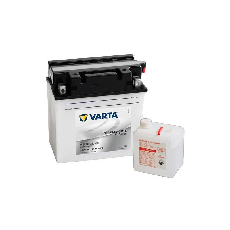 μπαταρια αυτοκινητου Μπαταρία μοτό Varta POWERSPORTS Freshpack YB16CL-B Μπαταρία ανοιχτού τύπου