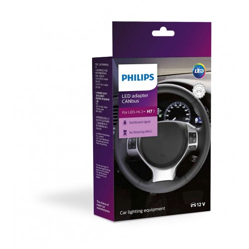 PHILIPS LED CANbus ADAPTOR H7 12V 10W