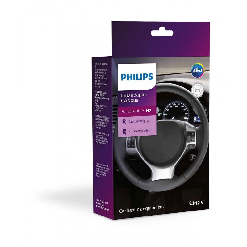 PHILIPS LED CANbus ADAPTOR H7 10W