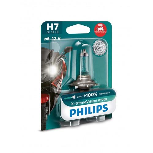 PHILIPS H7 12V 55W X-TREME VISION MOTO