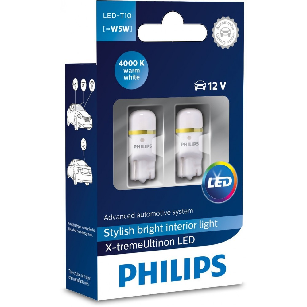 PHILIPS LED T10 4000K 12V 1W