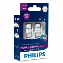 PHILIPS LED T10 8000K 12V 1W