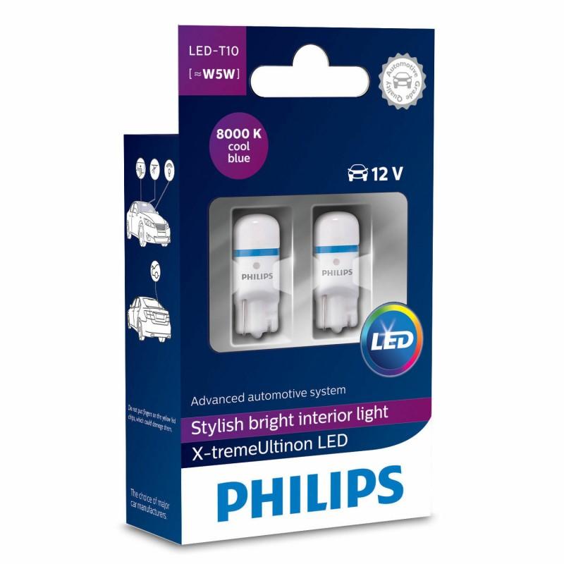 PHILIPS LED T10 8000K 12V 1W