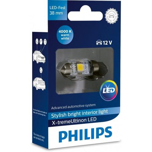 PHILIPS LED FEST 38mm 4000K 12V 1W