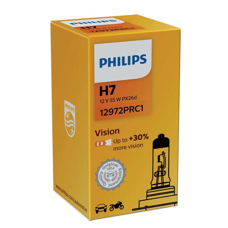 PHILIPS H7 12V 55W VISION +30%