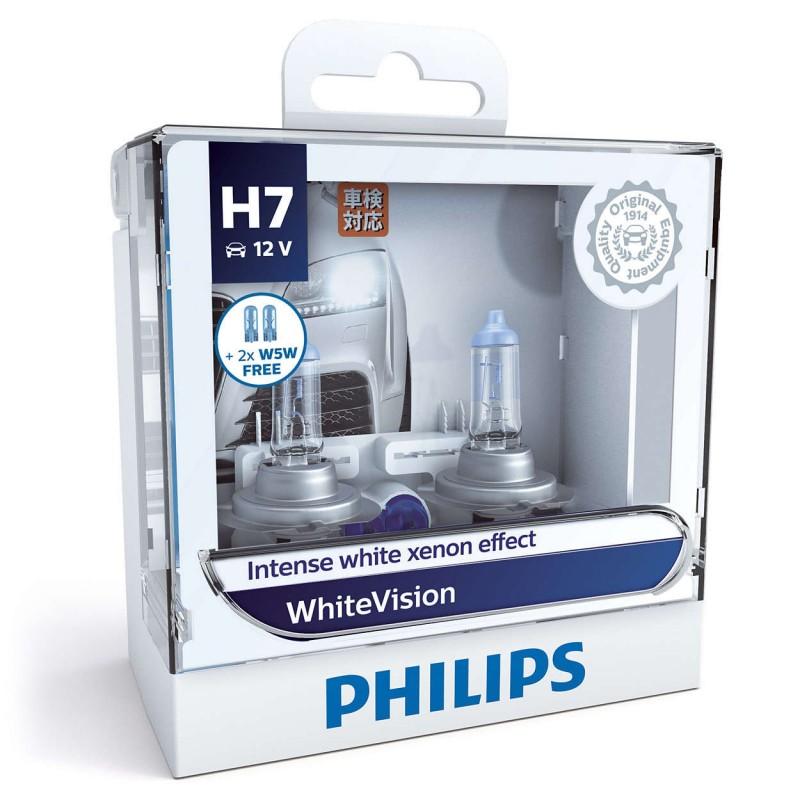 PHILIPS H7 12V 55W WHITE VISION